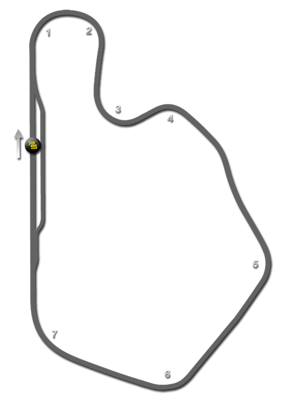 Lime Rock Park Track Guide Map