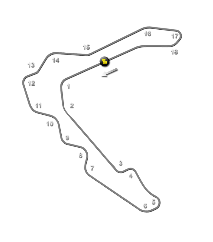 PittRace Track Guide Map
