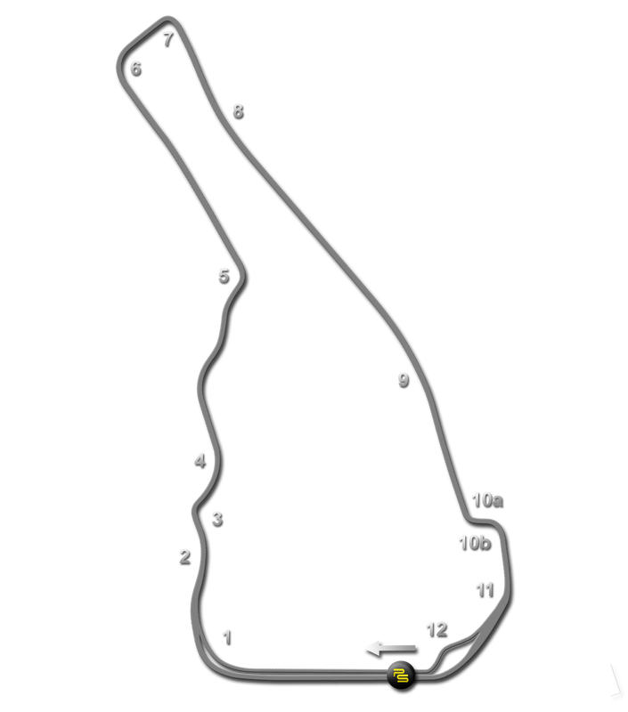 Road Atlanta Track Guide Map