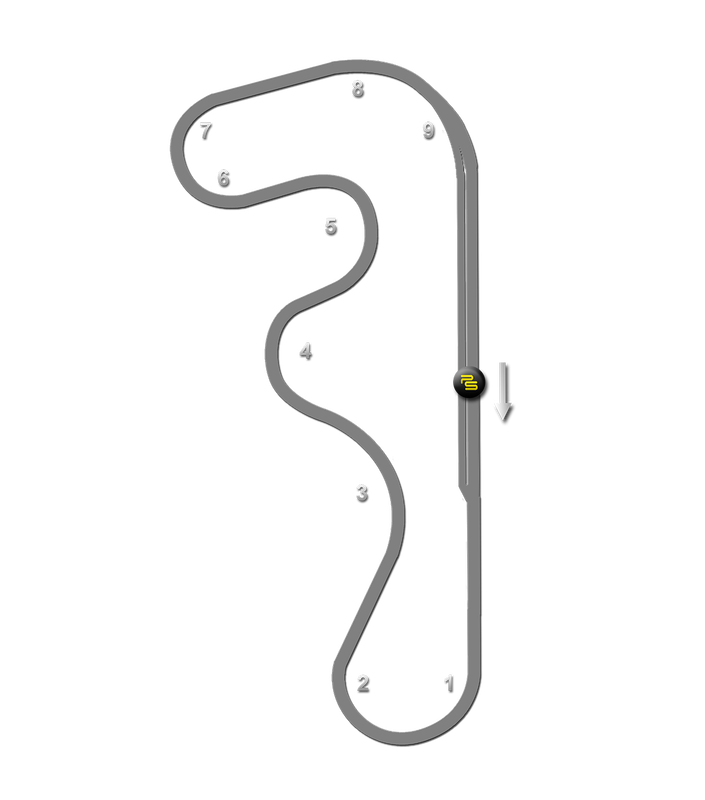 Track Notes | Roebling Road Raceway Track Guide Map