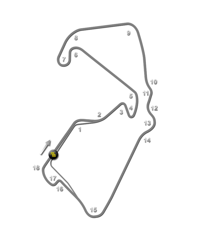 Silverstone Track Guide Map