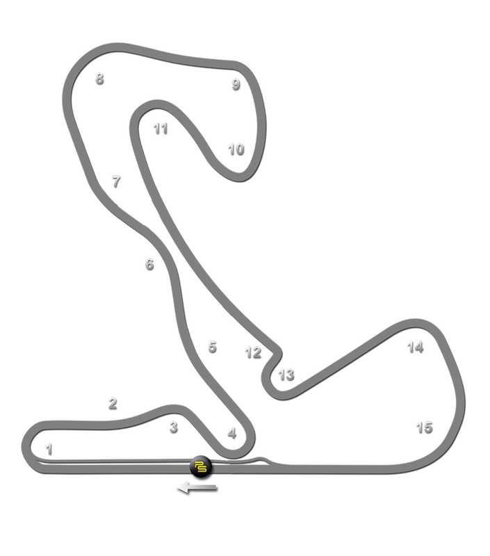 Track Notes Circuit Zandvoort Track Guide Map Paradigm Shift Driver Development